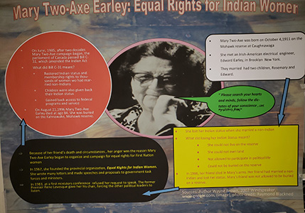 Mary Two-Axe and Indigenous feminism