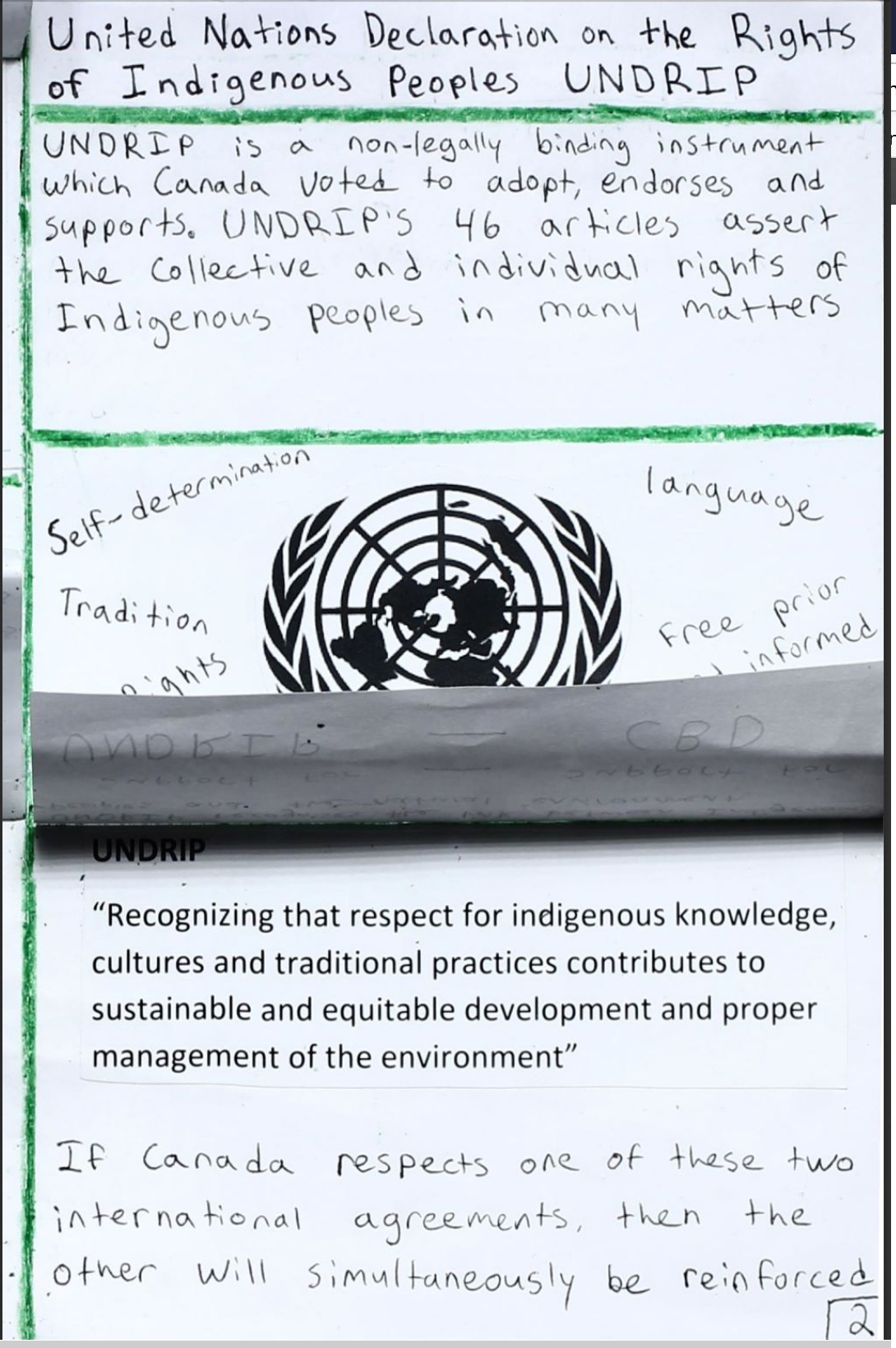 International Agreements and Indigenous Environmental Activism 12