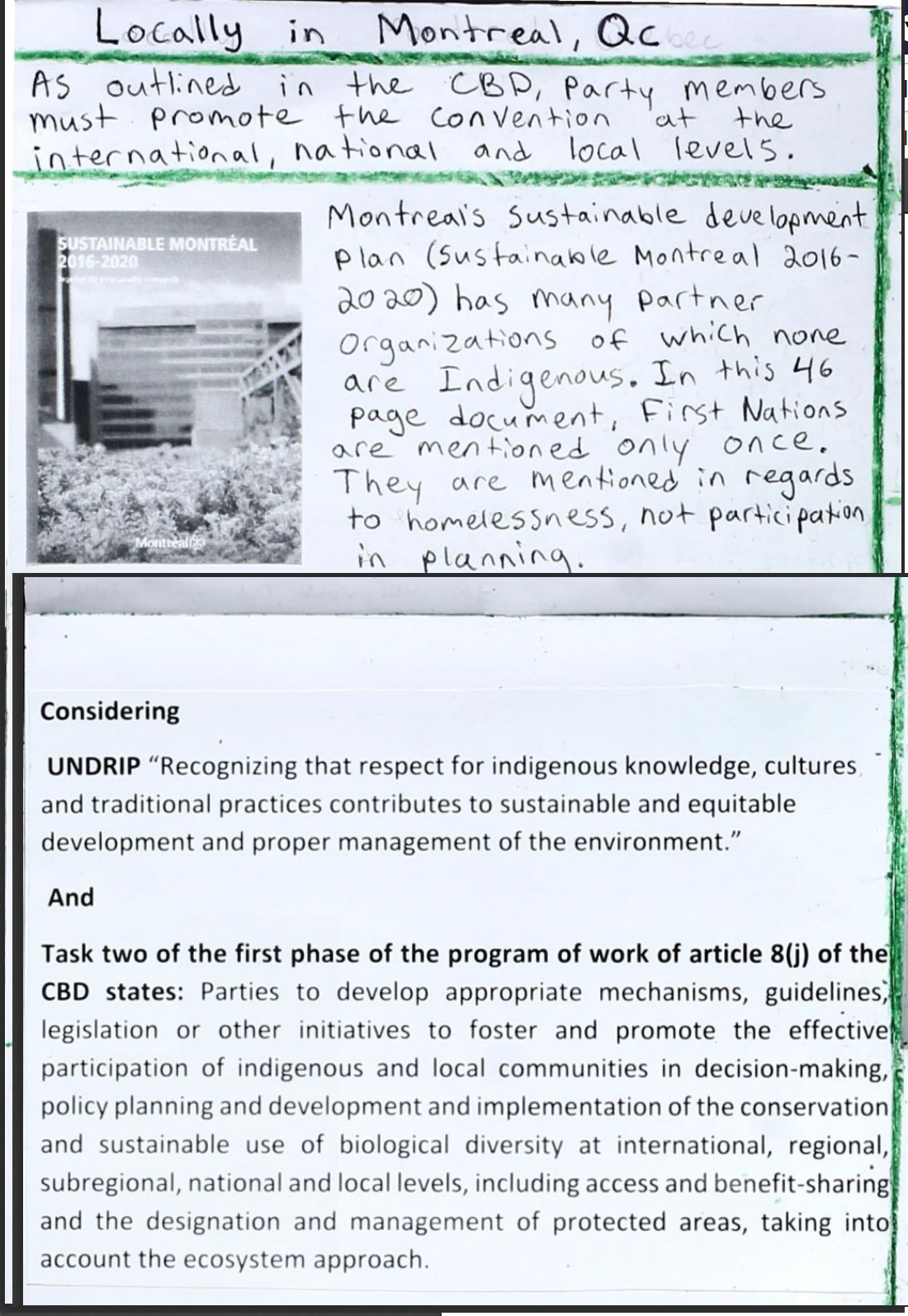 International Agreements and Indigenous Environmental Activism 10